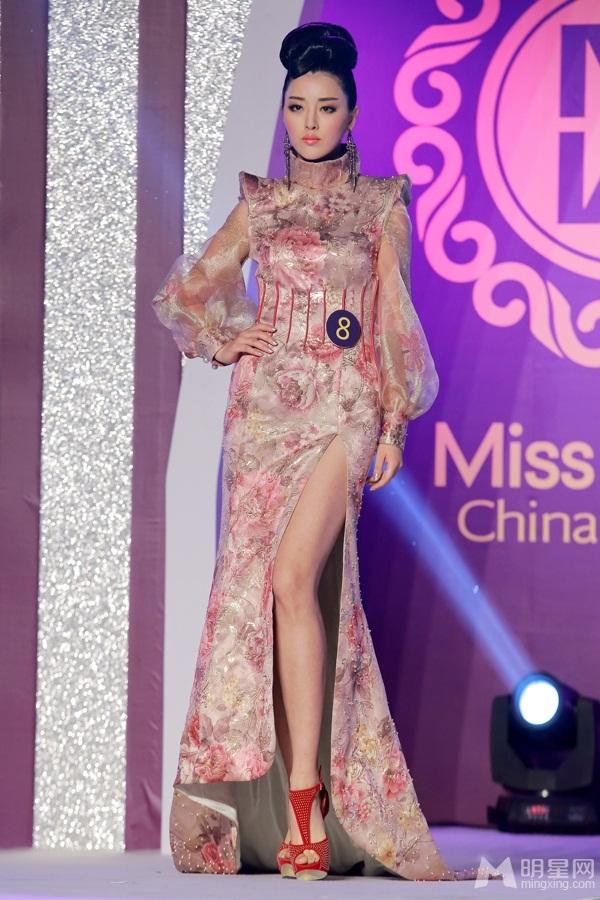 Участница Мисс мира 2013: китаянка Юй Вэй Вэй. фото