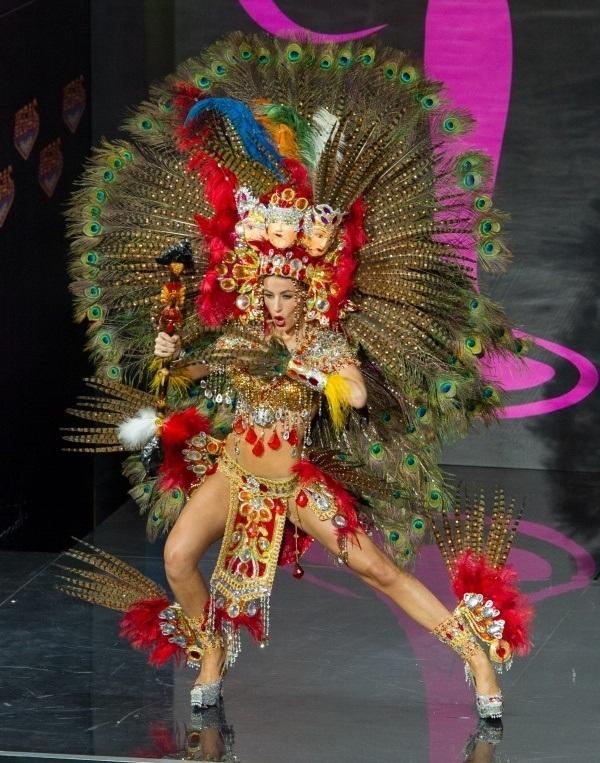 Мисс Вселенная 2013: лучший национальный костюм Никарагуа