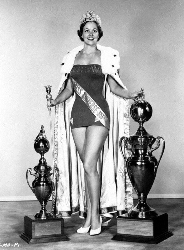 Мириам Стивенсон (США) Мисс Вселенная 1954 фото