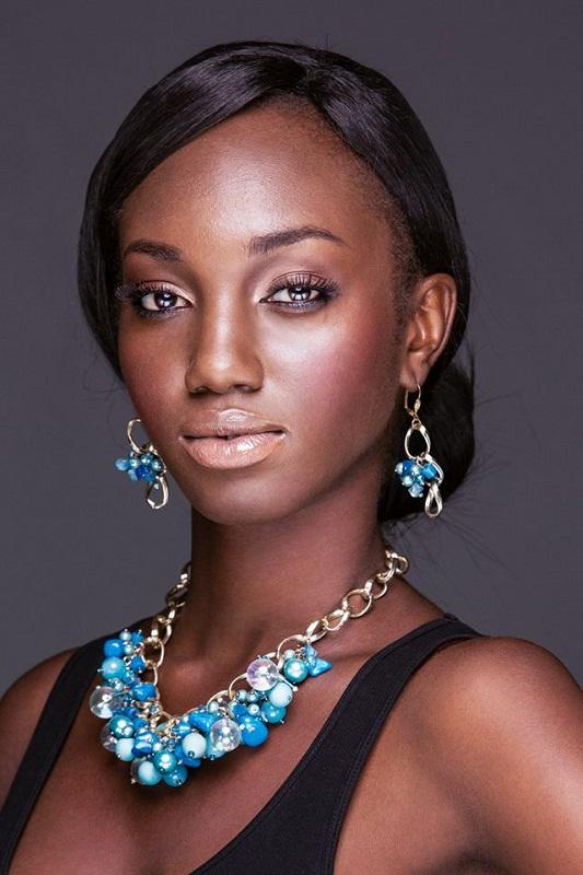 Мисс Вселенная 2013: участница Hanniel Jamin - Гана. фото