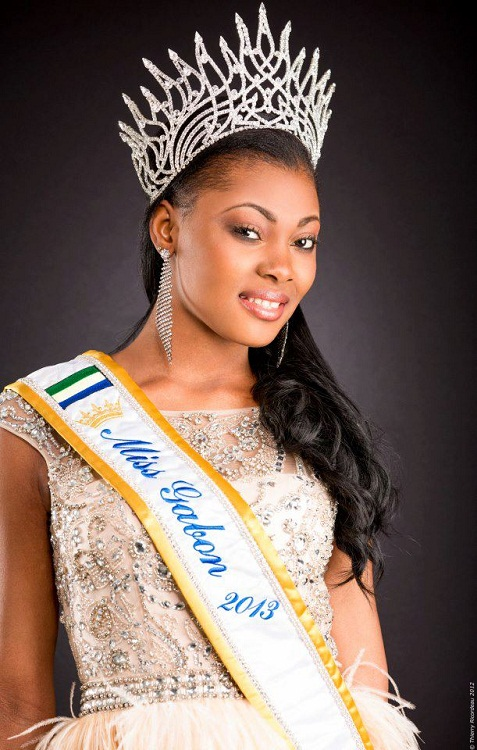 Мисс Вселенная 2013: участница Jennifer Ondo Mouchita (Габон). фото