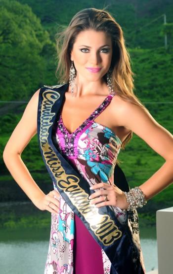 Мисс Вселенная 2013 участница Constanza Baez - Эквадор фото