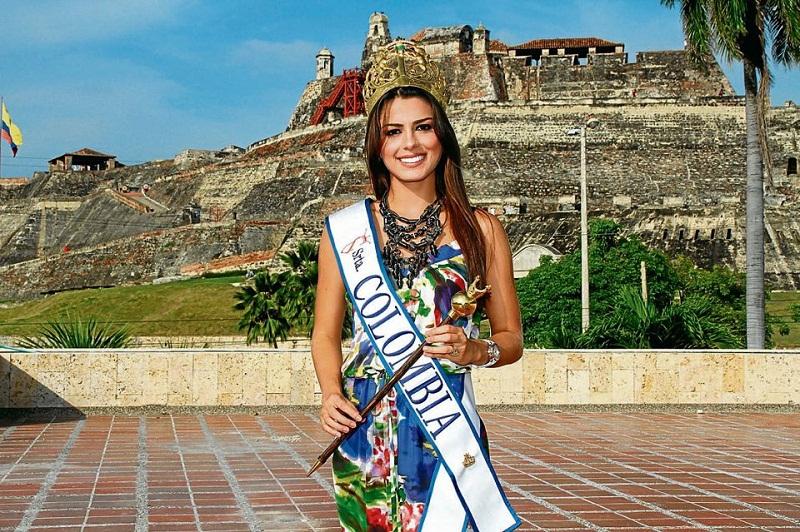 Мисс Вселенная 2013 участница Lucia Aldana - Колумбия фото