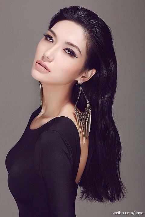 участница конкурса Мисс Вселенная 2013 Jin Ye Китай фото