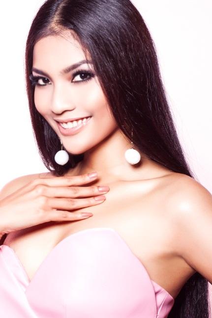 участница конкурса Мисс Вселенная 2013 Truong Thi May - Вьетнам фото