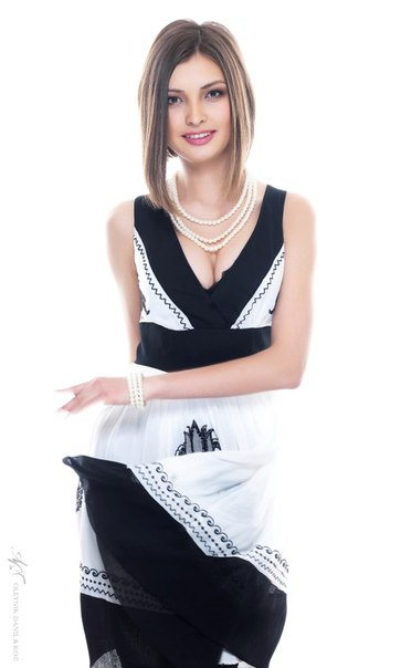 Айгерим Кожаханова (Казахстан) участница конкурса Мисс Вселенная 2013