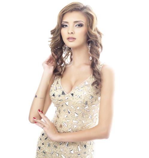 участница конкурса Мисс Вселенная 2013 Айгерим Кожахан (Казахстан)