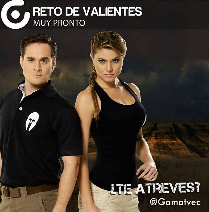 Констанца Баес в рекламе эквадорской версии Фактора страха