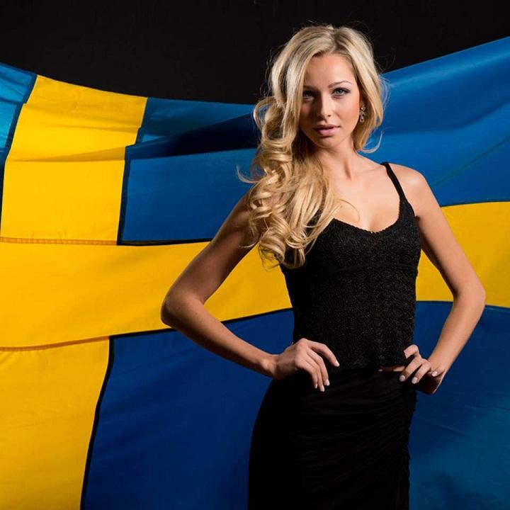 Alexandra Friberg Швеция участница конкурса Мисс Вселенная 2013 фото
