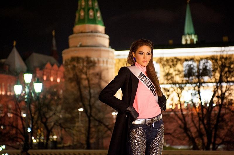 Габриэла Ислер в Москве фото