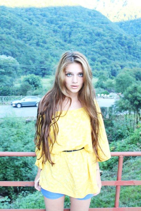 красивая грузинка Джанет Кердикошвили