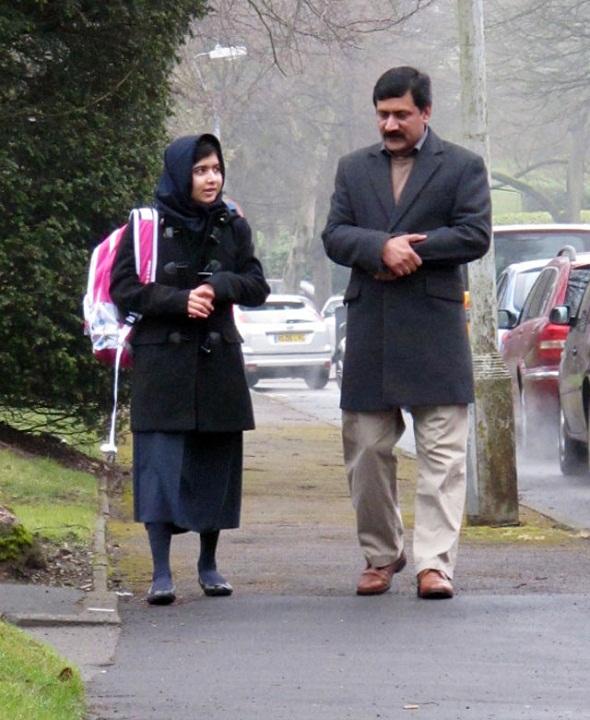 Отец Малалы Зиауддин Юсуфзай