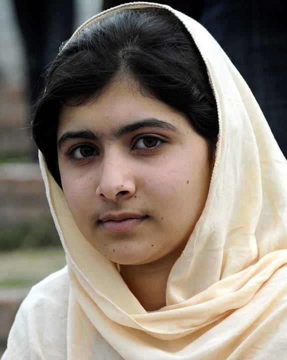 девушка-пакистанка Малала Юсуфзай. фото