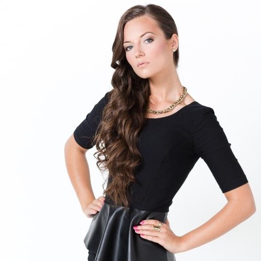 Симона Бурбайте Первая вице-Мисс Литва 2013 фото