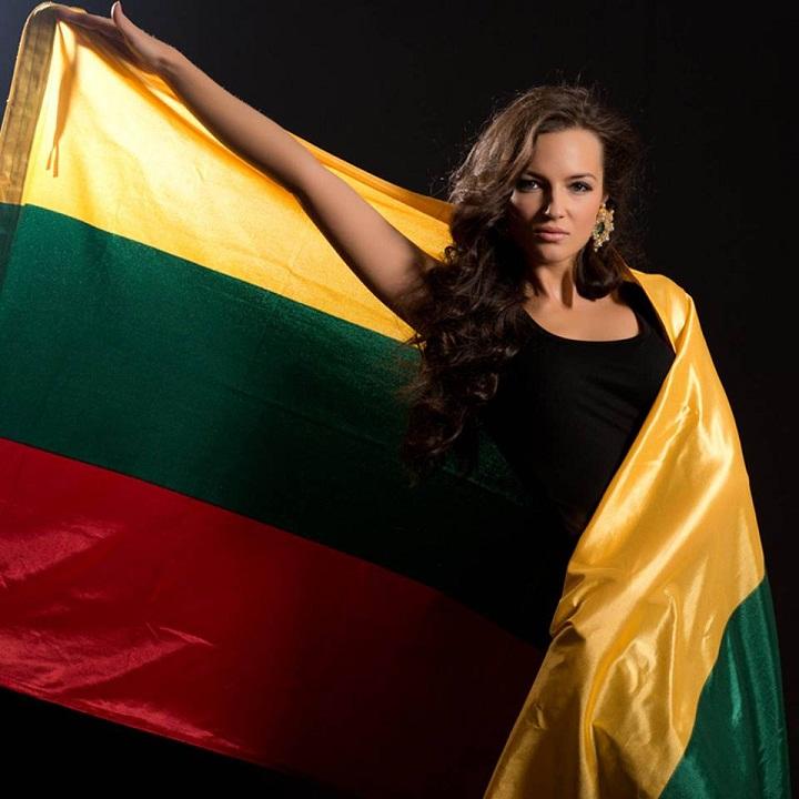 Симона Бурбайте (Литва) участница конкурса Мисс Вселенная 2013 фото