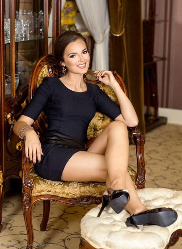 красивая литовская девушка Симона Бурбайте фото