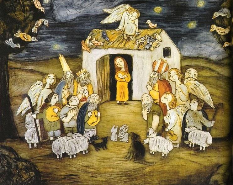 Кадр из мультфильма рождество михаила
