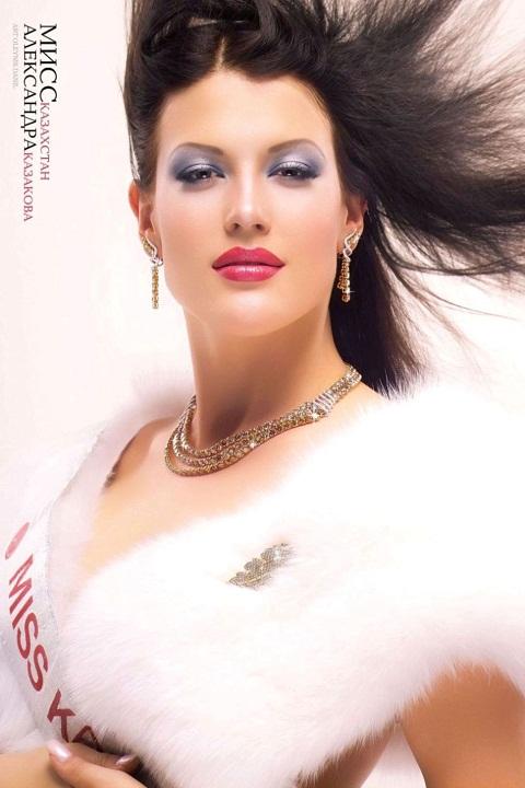 Александра Казакова победительница конкурса Мисс Казахстан 2004. фото