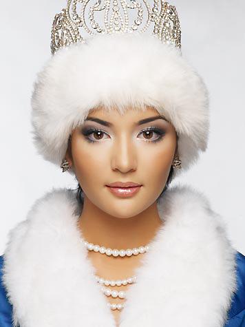 Альфина Насырова победительница конкурса Мисс Казахстан 2007. фото
