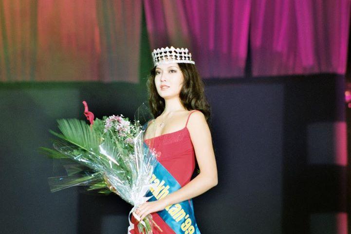 Асель Исабаева победительница конкурса Мисс Казахстан 1999. фото