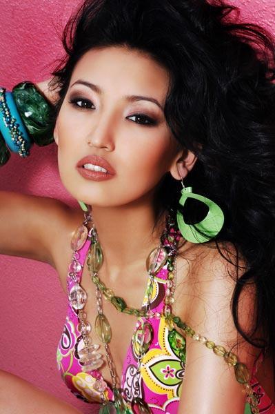 Гаухар Рахметалиева победительница конкурса Мисс Казахстан 2006. фото