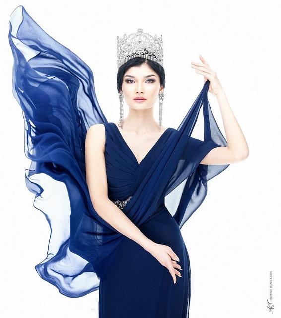 Жазира Нуримбетова победительница конкурса Мисс Казахстан 2012. фото