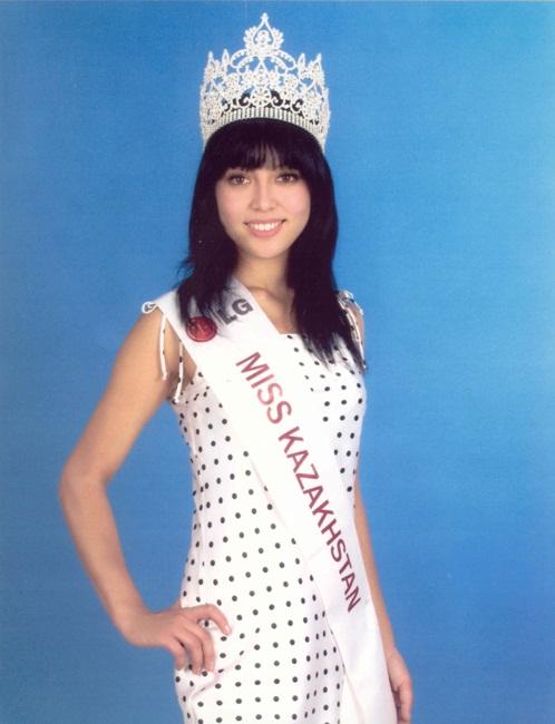 Сымбат Мадьярова победительница конкурса Мисс Казахстан 2009. фото