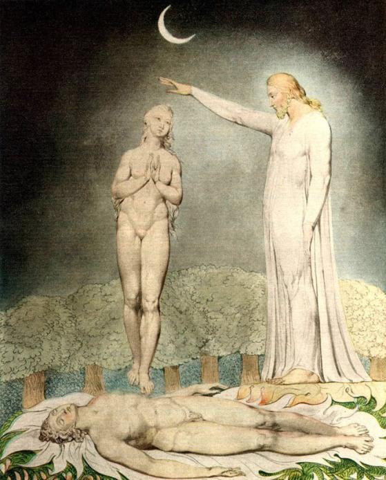 Уильям Блейк. Творение Евы