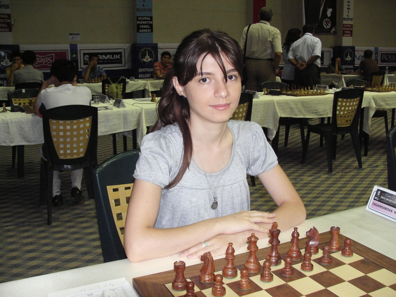 азербайджанская шахматистка Хаяла Искендерова. Фото
