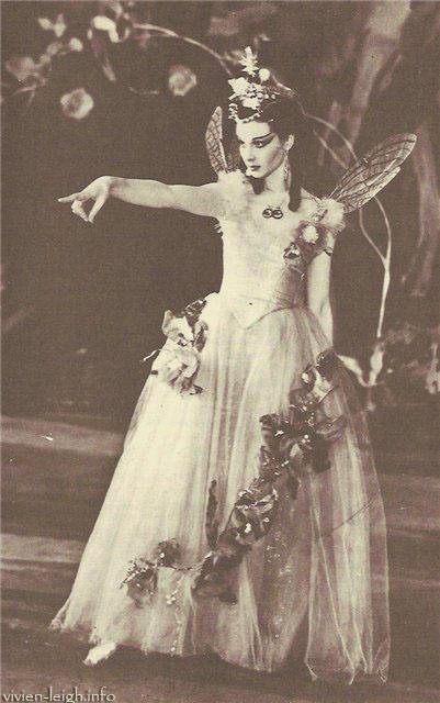 Вивьен Ли в роли Титании (Сон в летнюю ночь, 1937)
