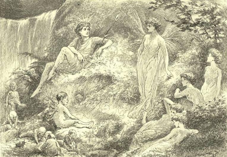 Оберон и Титания (Шекспир - Сон в летнюю ночь)