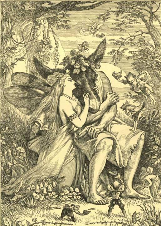 Титания и Основа (Шекспир - Сон в летнюю ночь)