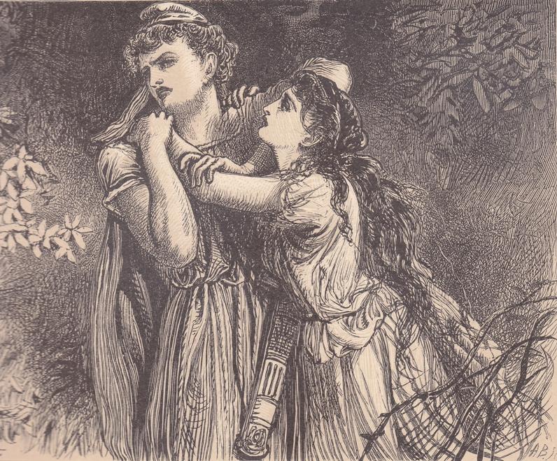 Alfred Fredericks - Лизандр и Гермия (Шекспир - Сон в летнюю ночь)