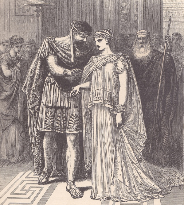 Alfred Fredericks - Тезей и Ипполита (Шекспир - Сон в летнюю ночь)