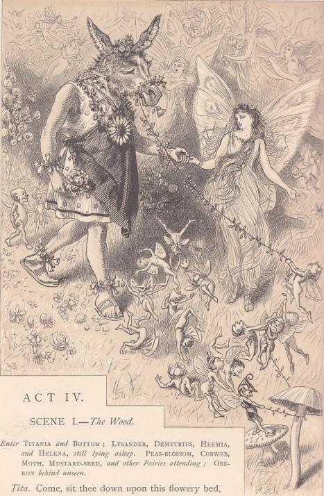 Alfred Fredericks - Титания и Моток (Основа) (Шекспир - Сон в летнюю ночь)