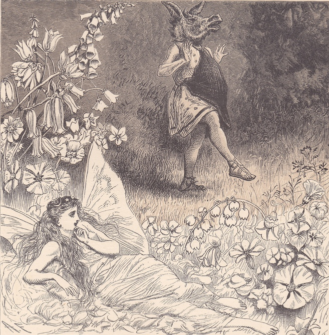 Alfred Fredericks - Титания и Основа (Шекспир - Сон в летнюю ночь)