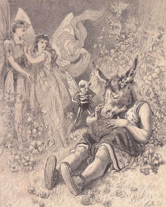Alfred Fredericks - Титания, Оберон и Основа (Шекспир - Сон в летнюю ночь)