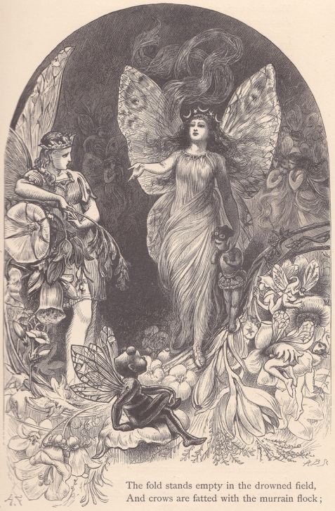 Alfred Fredericks. Титания и Оберон (Шекспир - Сон в летнюю ночь)