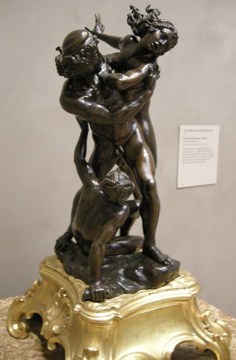 Giovanni Francesco Susini - Похищение Елены Парисом