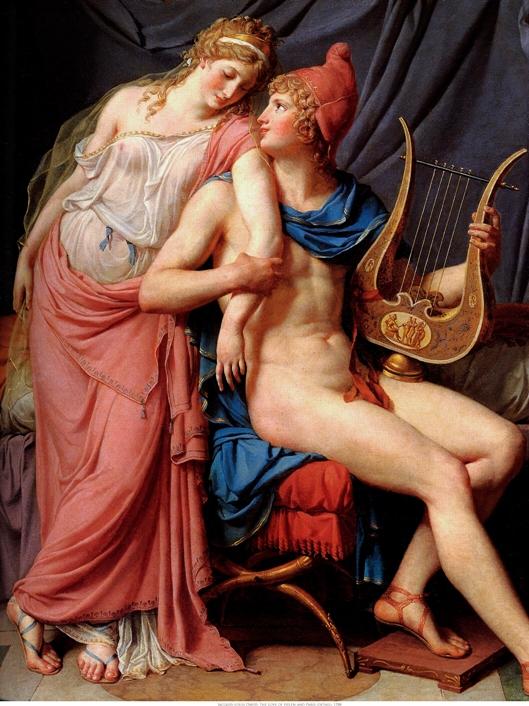 Jacques-Louis David - Елена и Парис