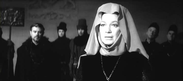 Regele Lear (1970).  Goneril (Elsa Radzinya)