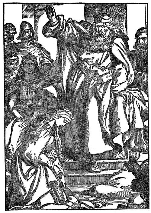 Regele Lear şi Cordelia