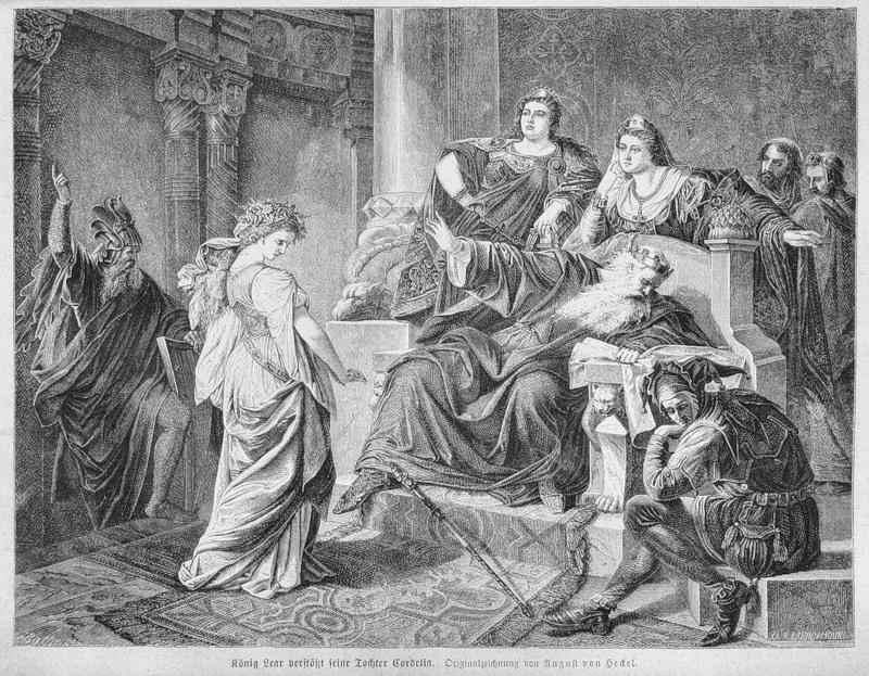 Regele Lear şi fiicele sale
