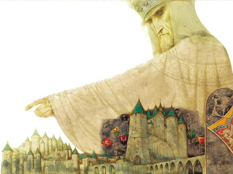 Paul Tatarnikov.  Regele Lear alungă Cordelia