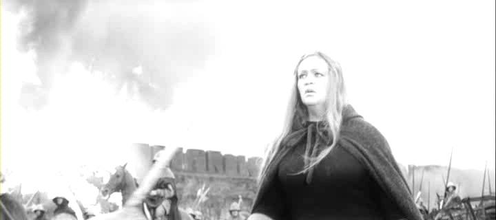 Regele Lear (1970).  Regan (Galina Volchek)