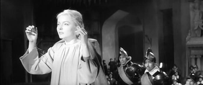 Анастасия Вертинская в роли Офелии (Гамлет, 1964)