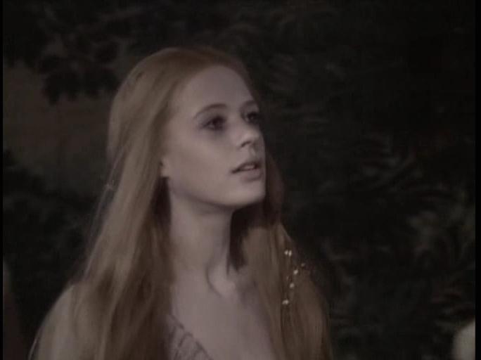 Марианна Фэйтфул в роли Офелии (Гамлет, 1969)