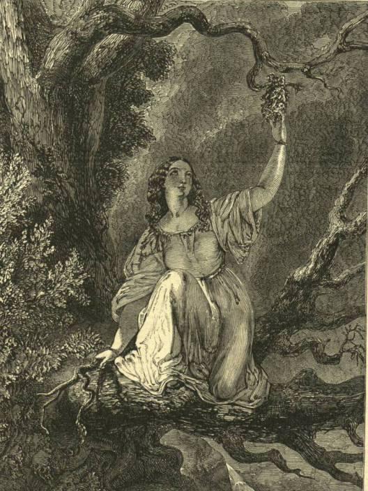 H.Le Jeune. Офелия (Шекспир - Гамлет)