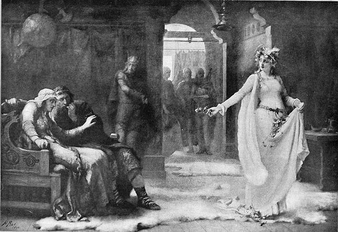 Henrietta Rae. Офелия (Шекспир - Гамлет)