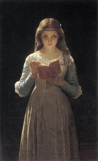 Pierre Auguste Cot. Офелия (Шекспир - Гамлет)